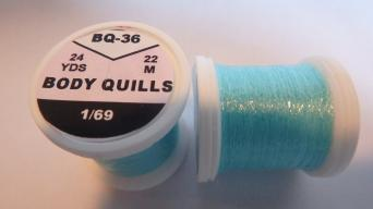 Body quills 36 turquoise